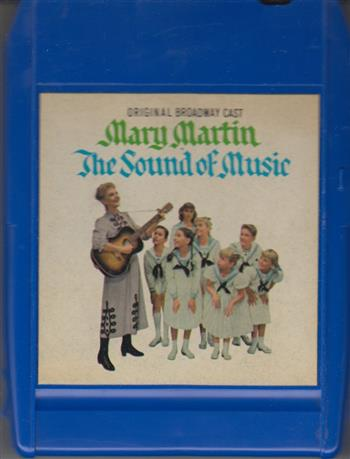 The Sound Of Music: Original Broadway Cast  8 track tape