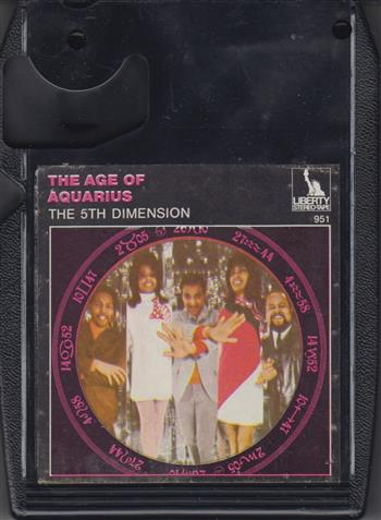 The 5th Dimension: The Age of Aquarius - 8 Track Tape Cartridge