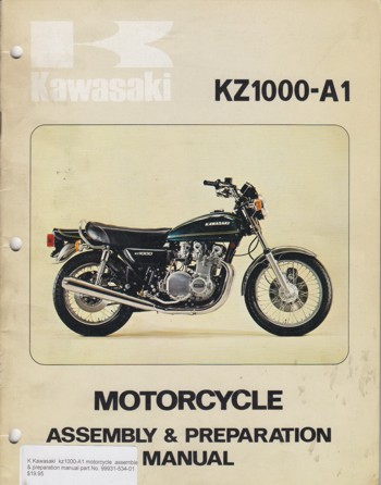 Motorcycle Assembly & Preparation Manual