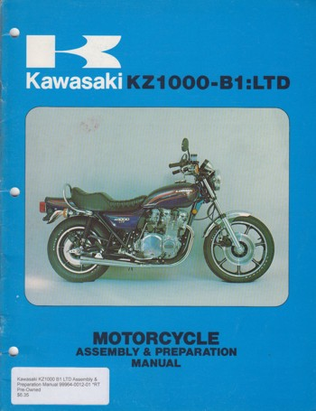 Motorcycle & Preparation Manual
